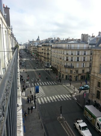 Street View Fro The 5th Floor Foto Hotel France Louvre