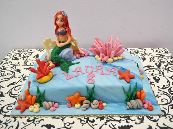 Ariel Birthday Cake Designs The Best Cake Of 2018