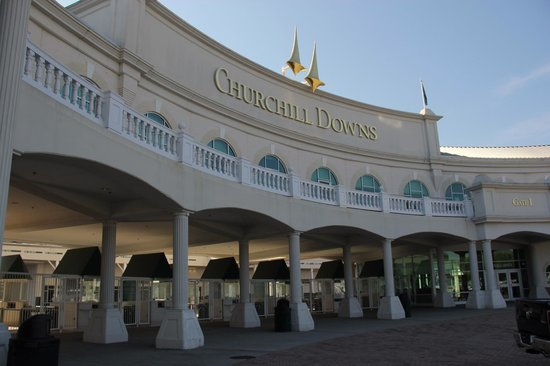 Entrance to Churchill Downs Picture of Kentucky Derby