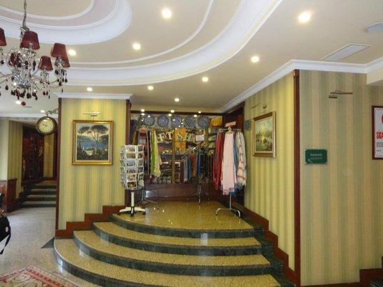 L Entrata Del Grand Yavuz Hotel Picture Of Grand Yavuz