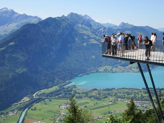 Schwebende Aussichtsplattform  Bild von Harder Kulm Interlaken  TripAdvisor