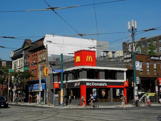Mcdonalds Toronto  100 Wellington St W Downtown West  Ristorante Recensioni  Numero di