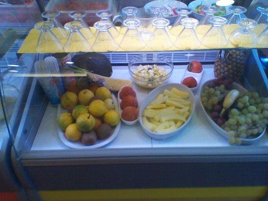 frutta  Picture of La Terrazza Del Barone Catania