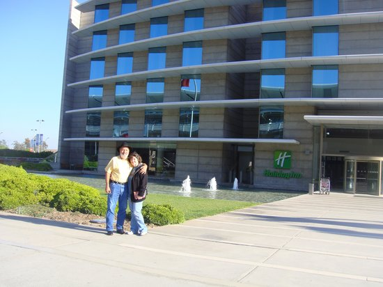 Judy W L Airport Holiday Inn Santiago Chile Picture