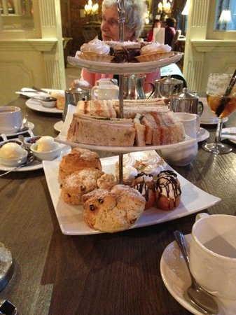 Yummy Afternoon Tea  Picture of Coombe Abbey Hotel