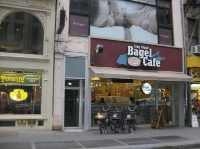 Long Island Bagel Cafe, New York City - Financial District ...