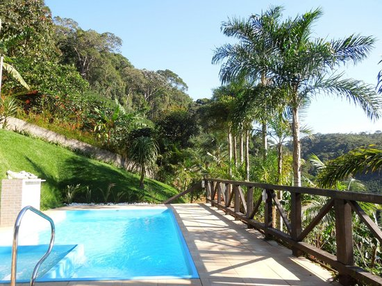 Recanto Primata Pool Im Garten