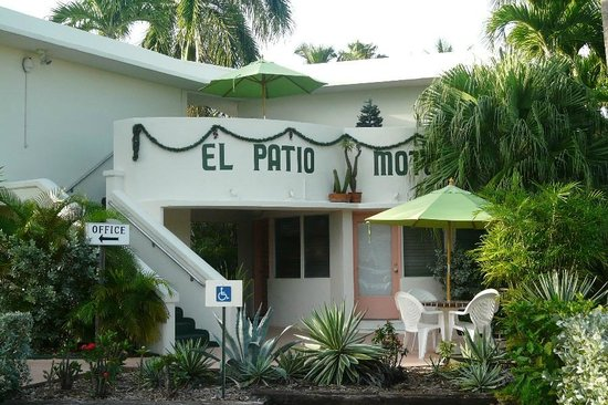 The main office building  Picture of El Patio Motel Key West  TripAdvisor