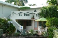 The main office building - Picture of El Patio Motel, Key ...