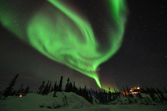 Blachford Lake Lodge Northern Lights
