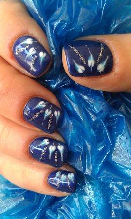 Liberty Style Nail Art In Gel
