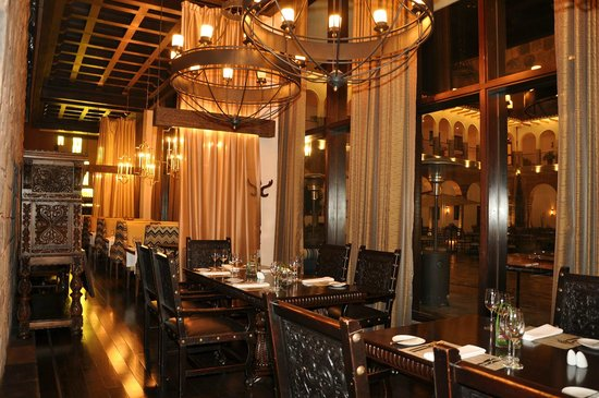 Restaurant Pirqa en el hotel  Picture of JW Marriott El