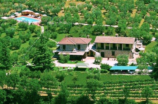 Agriturismo la Rocca Assisi Hotel Rocca SantAngelo