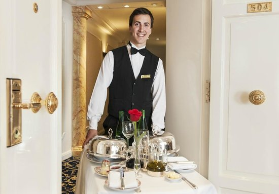 Room Service Picture Of Alvear Palace Hotel Buenos Aires Tripadvisor