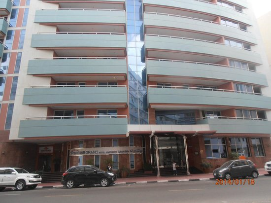 Front View Of Hotel Picture Of Fortune Grand Hotel Apartment Dubai TripAdvisor
