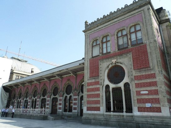 Train Station In Eminonu Picture Of Sude Konak Hotel
