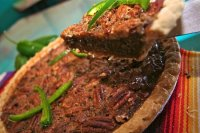 Our famous Chocolate Jalapeo Pecan Pie