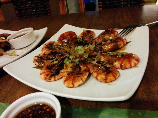 Prawns  Picture of La Mesa Grill Cebu Island  TripAdvisor