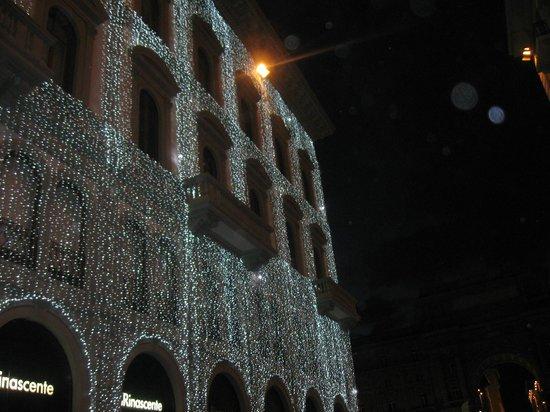 Tra le luci piubelle di Natale  La RinascenteCaffe La Terrazza  Picture of Caffe La