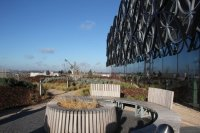 The roof garden - Picture of Library of Birmingham ...