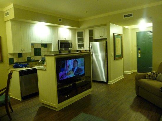 Disney S Hilton Head Island Resort Living Room Kitchen