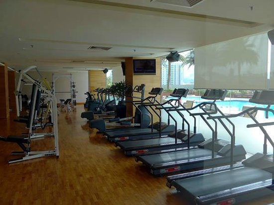 Fitness Center Picture Of Parkroyal On Kitchener Road