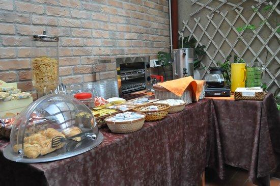 Sweet Breakfast Picture Of Hotel Ariel Silva Venice