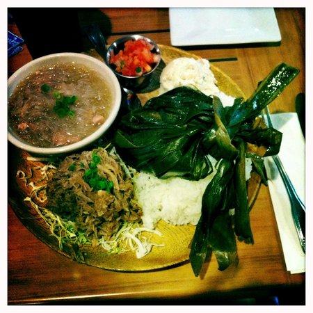 Hawaiian Plate  Picture of Da Kitchen Kahului Kahului