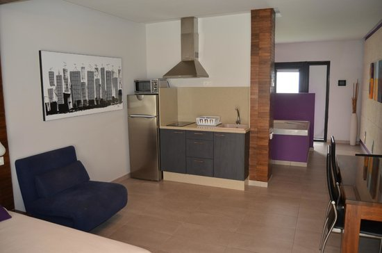 Apartamento  Estudio Lila zona de cocina fotografa de