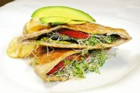 Vegetarian Sandwich: fotografa de The Patio on Guerra