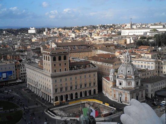 veduta dallalto  Foto di Roma dal Cielo Terrazza delle