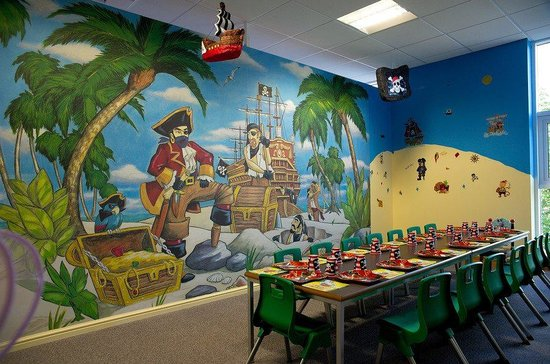 Theme Go 3d Wallpaper Pirate Party Room At Kids N Action Picture Of Kids N