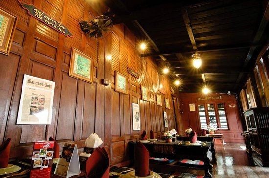 Second Floor Dining Room  Picture Of Ruen Mallika Royal