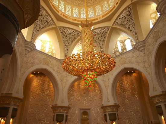 Sheikh Zayed Mosque The Giant Chandelier