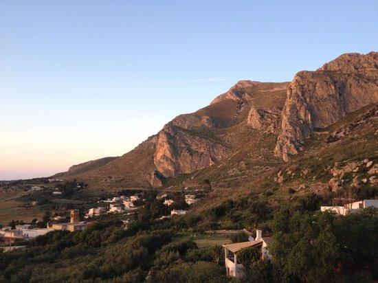 Tramonto dalla terrazza panoramica  Picture of Torre