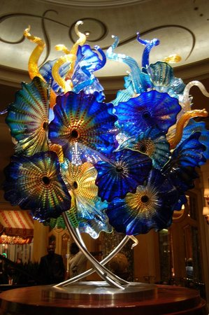 At Bellagio Glass Flowers Everywhere