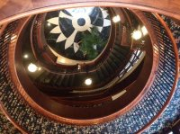 Spiral Staircase - Picture of French Quarter Inn ...