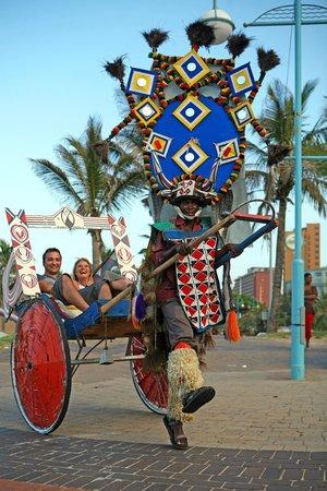 Durban Ricksha Ride on the Beach Front - Picture of Durban, KwaZulu-Natal -  Tripadvisor