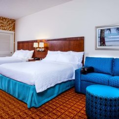 Queen Bed Sofa Feather Filled Guest Room Two Beds With Picture Of Fairfield Inn Suites Orlando Ocoee