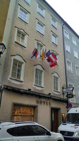 Hotel Exterior Picture Of Cityhotel Trumer Stube Salzburg