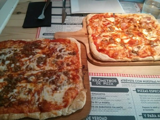 pizza barbacoa con y