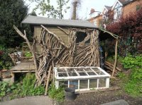 A wooden built summer house - Picture of Hill Close ...