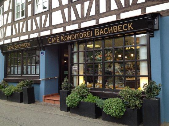 Die Torten  Picture of Cafe Konditorei Bachbeck Schiltach  TripAdvisor