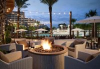Outdoor Fire Pit - Picture of Orlando World Center ...