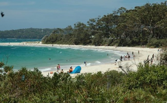 Waterfront Bbq Area Picture Of Huskisson Beach Tourist