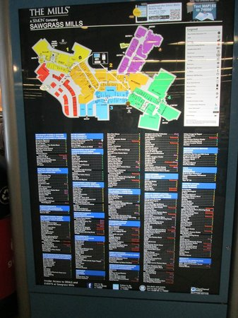 Sawgrass Mall Map : sawgrass, Tripadvisor, صورة, Sawgrass, Mills،, Sunrise