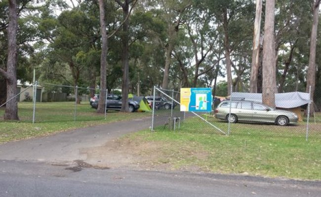Front View Picture Of Huskisson Beach Tourist Resort