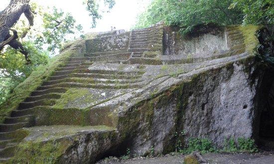 Piramide Etrusca o Sasso del Predicatore Bomarzo Italy