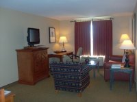Santa Fe Homewood Suites North Living room - Picture of ...