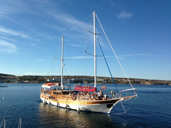 crazy sofa ride rattan conservatory corner at oh yeah water sports picture of malta melina turkish gullet private boat party s and weddings